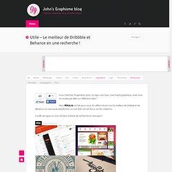 Utile - Le meilleur de Dribbble et Behance en une recherche !