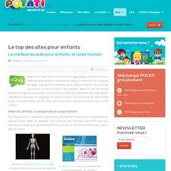 Le meilleur du web pour enfants: le corps humain