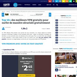 Top 10 meilleur VPN gratuit 2015 sous windows, mac, linux en france et usa