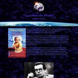 Le Meilleur des Mondes, d'Aldous Huxley