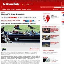 Mort de JFK: le meilleur des théories du complot - Dossier