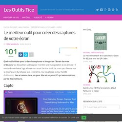 Le meilleur outil pour créer des captures de votre écran – Les Outils Tice