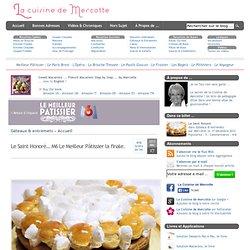 » Le Saint Honoré… M6 Le Meilleur Pâtissier la finale.