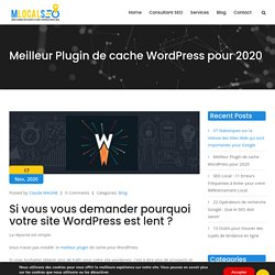 Meilleur Plugin de cache WordPress pour 2020
