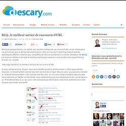 Bit.ly le meilleur service de raccourcis URL