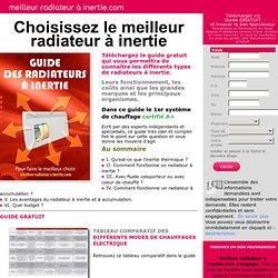 Meilleur Radiateur à Inertie - Quel radiateur à inertie choisir ?