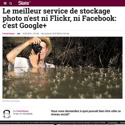 Google+ meilleur service de stockage photo