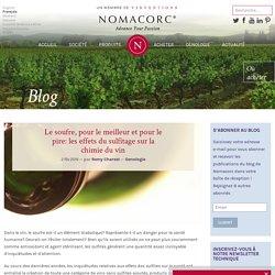 Le soufre, pour le meilleur et pour le pire: les effets du sulfitage sur la chimie du vin