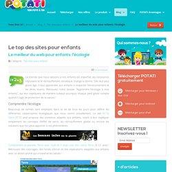 Le meilleur du web pour enfants: l'écologie