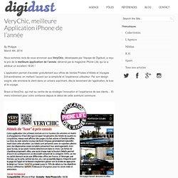 VeryChic, meilleure Application iPhone de l'année