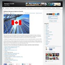 Meilleure Banque en ligne au Canada