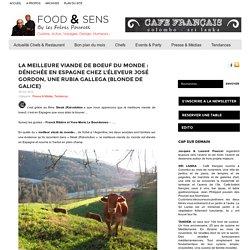 La Meilleure viande de boeuf du monde : dénichée en Espagne chez l'éleveur José Gordon, une Rubia gallega (Blonde de Galice)
