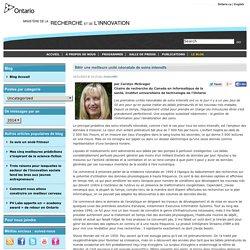 Bâtir une meilleure unité néonatale de soins intensifs « Ministry of Research and Innovation – Blog