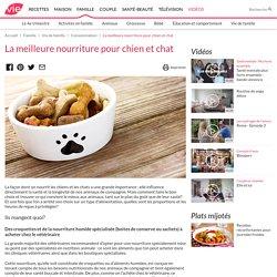 La meilleure nourriture pour chien et chat