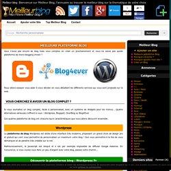 Meilleure plateforme Blog