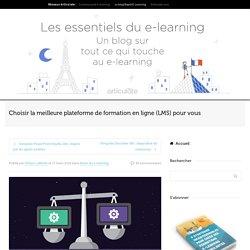 Choisir la meilleure plateforme de formation en ligne (LMS) pour vous