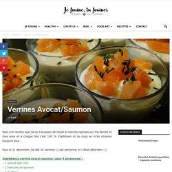 Meilleure recette verrine avocat saumon : verrine avocat saumon pour l'apéritif