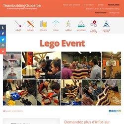 Lego Event - Event Masters - Les meilleures idées et activités de Team Building