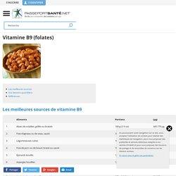 Vitamine B9 : les meilleures sources dans l'alimentation