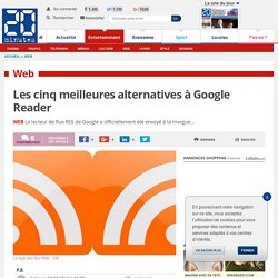 Les cinq meilleures alternatives à Google Reader