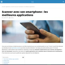 Top 5 Meilleures applications scanner sur smartphone