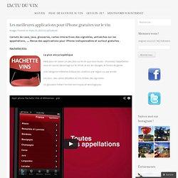 Les meilleures applications pour iPhone gratuites sur le vin