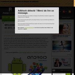 Meilleures applications Android : notre top à télécharger !