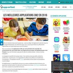 Les meilleures applications CM2 en 2016 - App-enfant