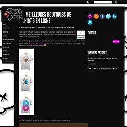Les meilleures boutiques en ligne de t-shirts originaux