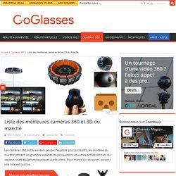 Liste des meilleures caméras 360 et 3D du marché - GoGlasses