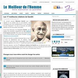 Les meilleures citations et pensées de Mahatma Gandhi