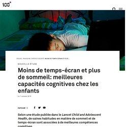 Moins de temps-écran et plus de sommeil: meilleures capacités cognitives chez les enfants