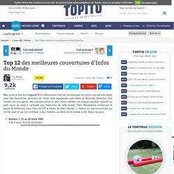 Top 12 des meilleures couvertures d'Infos du Monde