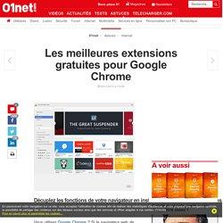 Les meilleures extensions gratuites pour Google Chrome