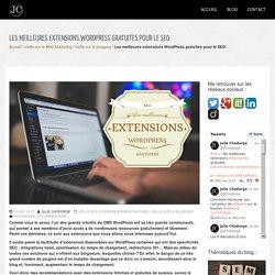 SEO : les meilleures extensions Wordpress gratuites