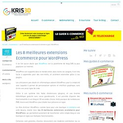 extensions Ecommerce pour Wordpress