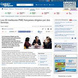 Les 50 meilleures PME françaises dirigées par des femmes