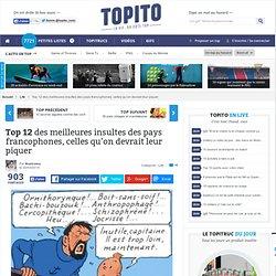 Top 12 des meilleures insultes des pays francophones, celles qu'on devrait leur piquer