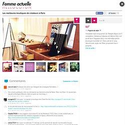 Jolies boutiques de créateurs à Paris