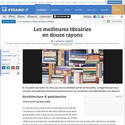 Enquete : Les meilleures librairies en douze rayons