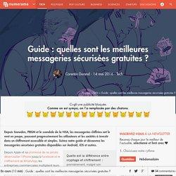 Guide : quelle messagerie sécurisée choisir ? - Tech