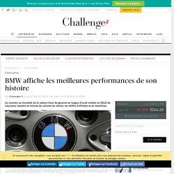 BMW affiche les meilleures performances de son histoire - Challenges.fr