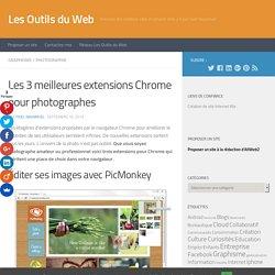 Les 3 meilleures extensions Chrome pour photographes