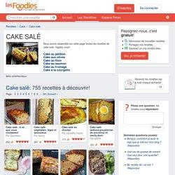 LES MEILLEURES RECETTES DE CAKE SALÉ