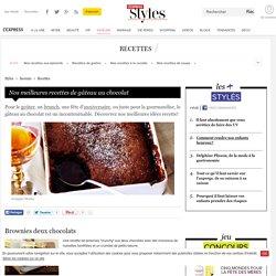 Nos meilleures recettes de gâteau au chocolat - L'Express Styles