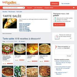 LES MEILLEURES RECETTES DE TARTE SALÉE