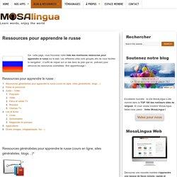 Apprendre le russe : Les meilleures ressources (vidéos ,jeux, podcasts...)