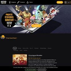 Webtoon Factory — Les meilleures séries de bande dessinées pour ton smartphone !