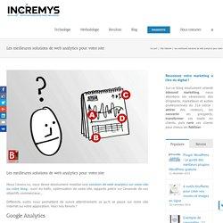 Les meilleures solutions de web analytics pour votre site