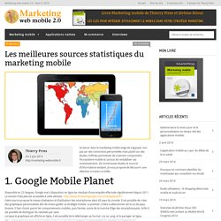 Les meilleures sources statistiques du marketing mobile